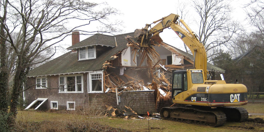 ... House Demolition By DECA ...